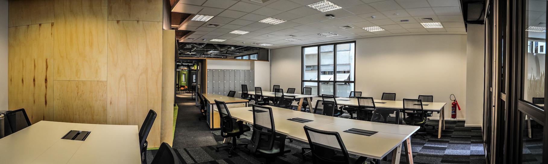 As startups que participarem do Programa de Aceleração  terão um espaço de coworking no Campus